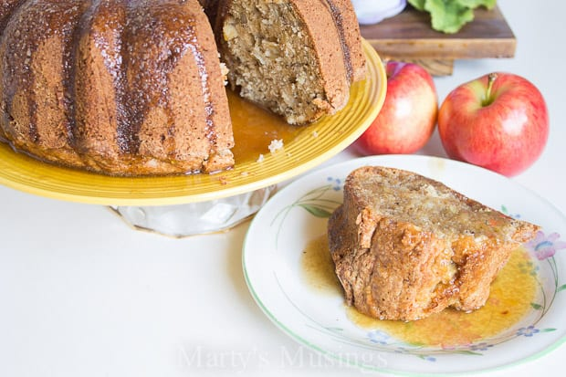 Apple Cake Recipe - Marty's Musings