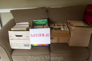 Organizing Home and Work with Sharpie Markers - Marty's Musings