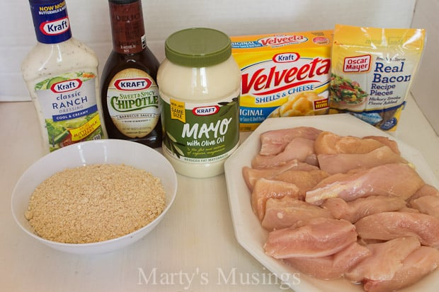 Simple Dinner with Baked Chicken Fingers - Marty's Musings