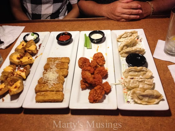 TGI Fridays $10 Endless Appetizers - Marty's Musings-3