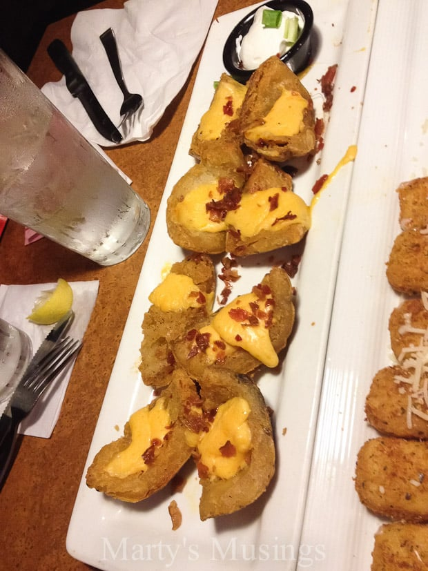 TGI Fridays $10 Endless Appetizers - Marty's Musings