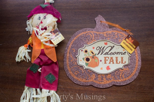 5 Minute Dollar Store and Burlap Wreath - Marty's Musings