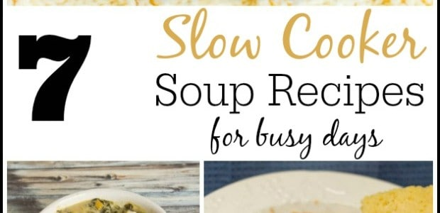 7 Slow Cooker Soup Recipes - Marty's Musings