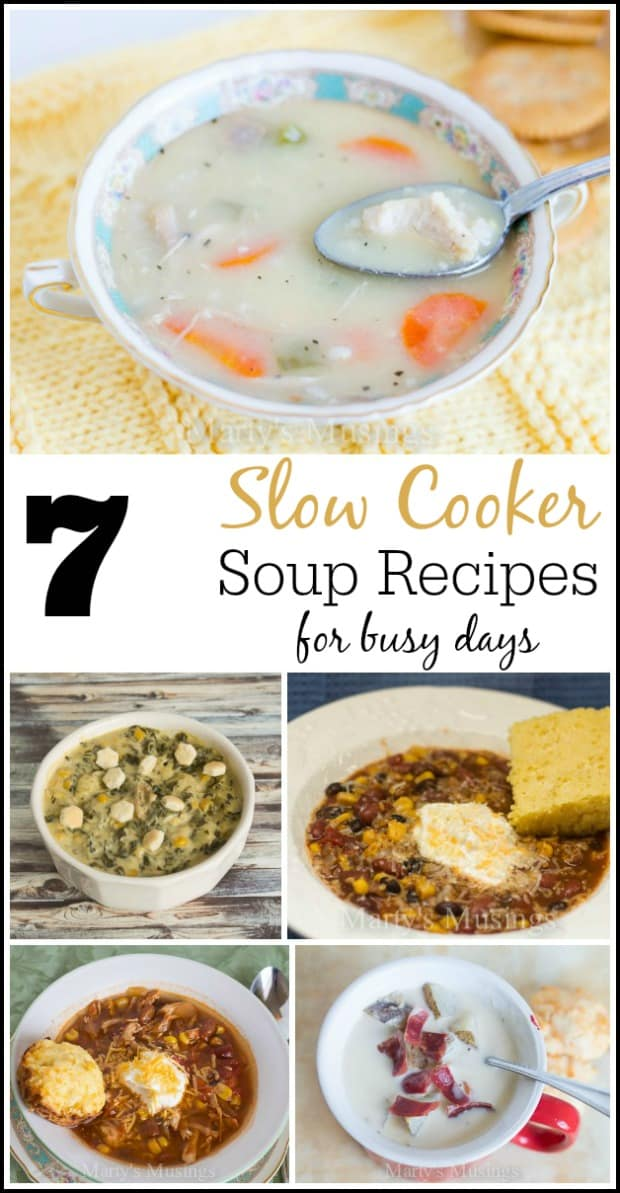 7 Easy Slow Cooker Soup Recipes