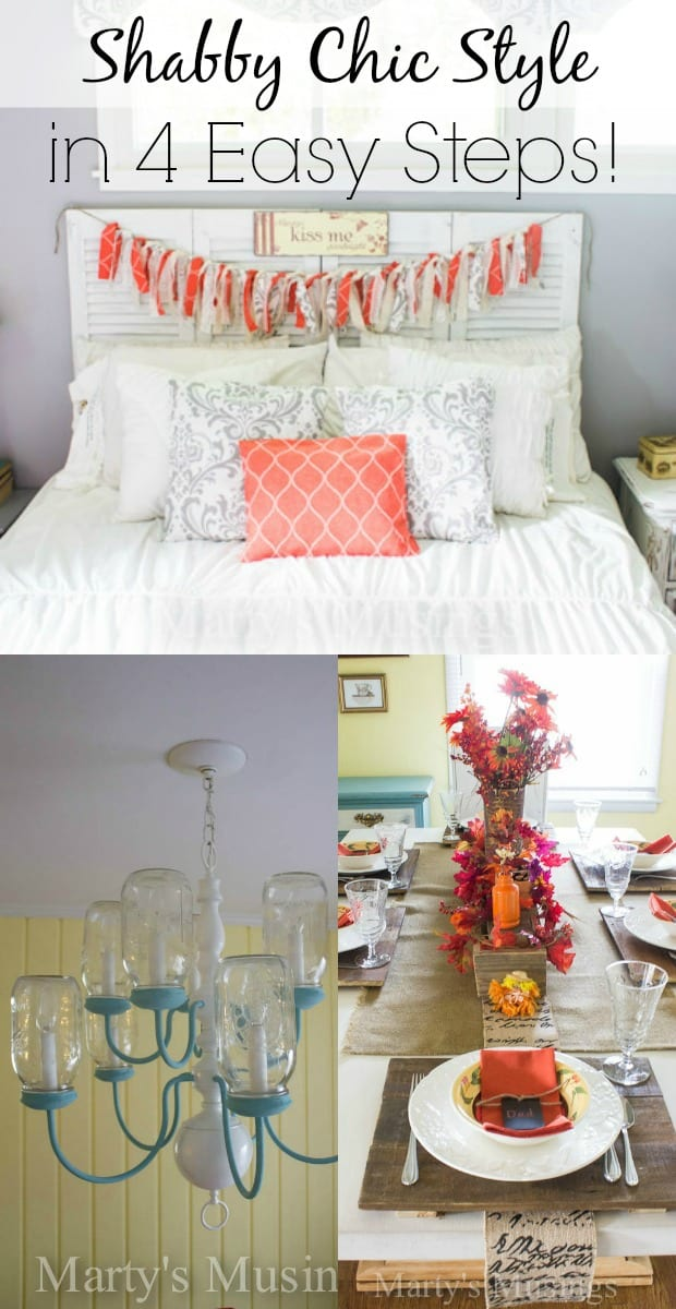 The Shabby Chic Style in Four Easy Steps