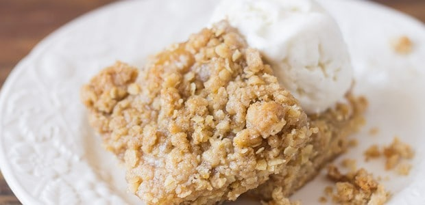 Apple Pie Filling Bars with Streusel Topping - Marty's Musings