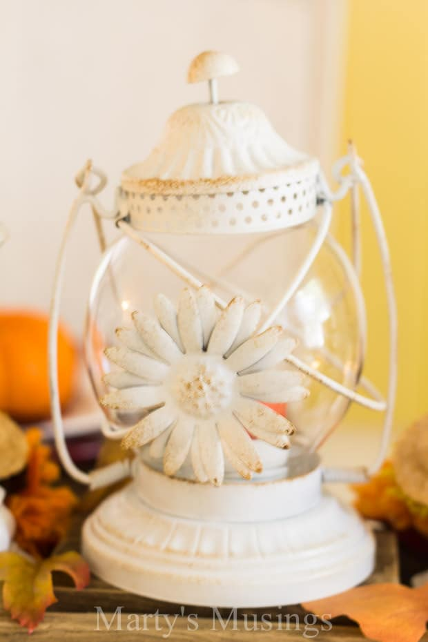 Easy Fall Table Setting Ideas - Marty's Musings