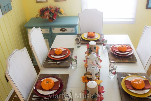 Autumn Table Setting Ideas 362 best fall tablescapes images on pinterest Easy Fall Table Setting Ideas Martys Musings