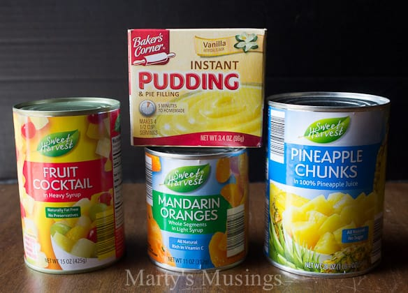 Easy Fruit Salad with 4 Ingredients - Marty's Musings