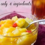 Easy Fruit Salad with only 4 Ingredients - Marty's Musings