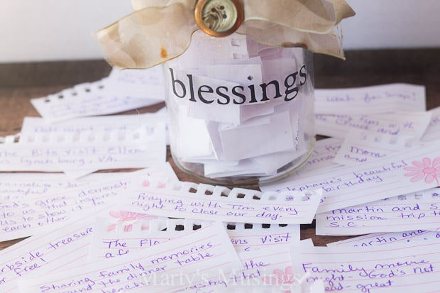 Family Blessing Jar - Marty's Musings