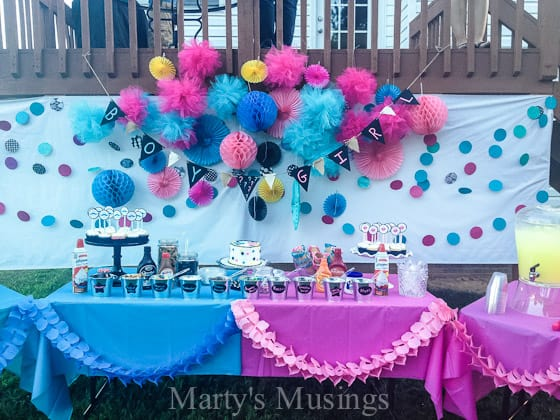 Baby Gender Reveal Party Food Ideas images