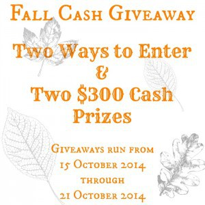 $600 Giveaway from Marty's Musings
