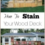 How to Stain Your Wood Deck - Marty's Musings