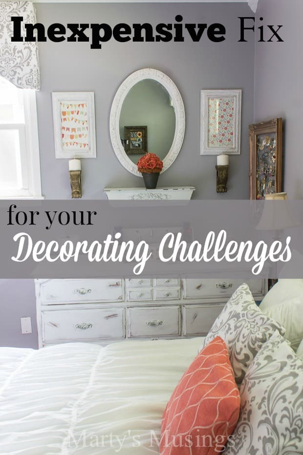Inexpensive Fix for Your Decorating Challenges