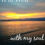 """31 Days: """"It is Well"""": Simple Gift Sunday"""