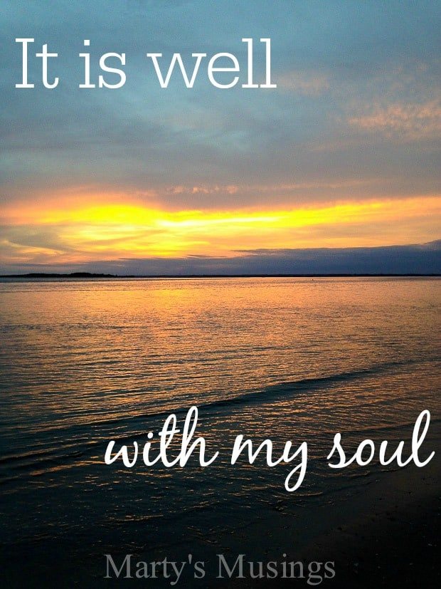 It is Well: Simple Gift Sunday