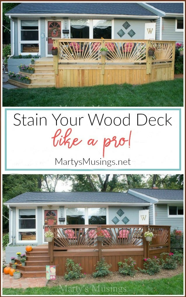 Even an ordinary homeowner can stain your wood deck with these practical tips and product recommendations from a professional painting contractor.