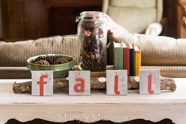 Easy Fall Vignette