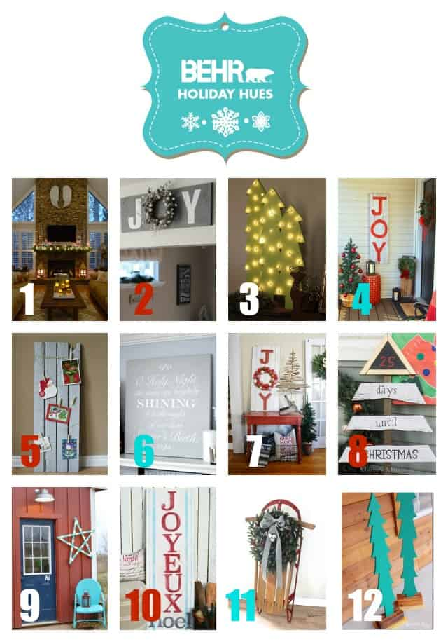 Behr Paint Holiday Hues Blog Hop - Marty's Musings