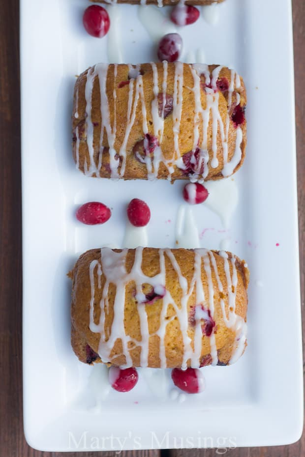 This easy recipe for Cranberry Pumpkin Quick Bread will soon become a family favorite. Topped with a simple glaze the bread is perfect all year round!