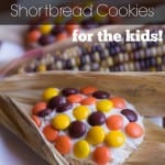 Indian Corn on the Cob Shortbread Cookies - Marty's Musings