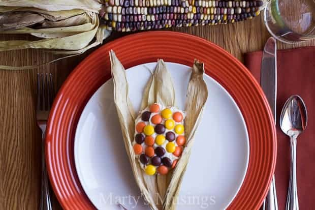 Indian Corn on the Cob Shortbread Cookies