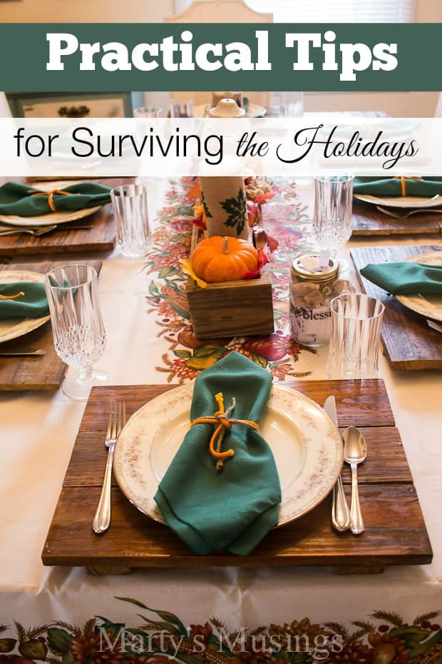 Practical Tips for Surviving the Holidays - Marty's Musings