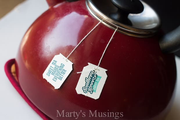 Southern Sweet Tea with a Twist! Marty's Musings