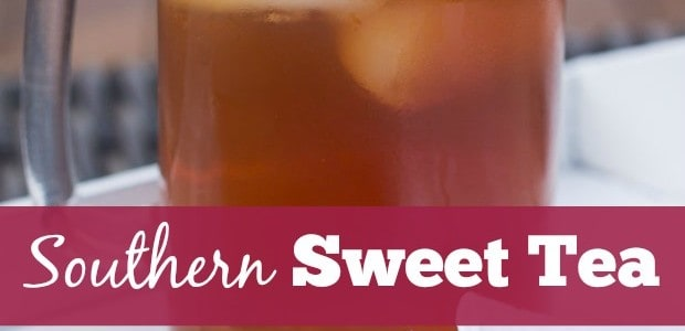 Southern Sweet Tea with a Twist - Marty's Musings