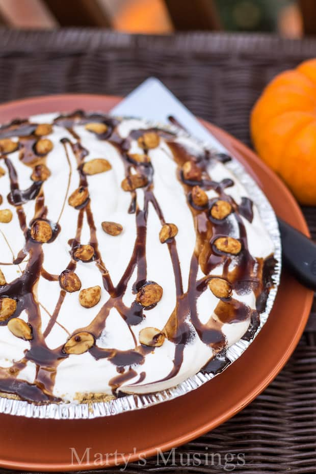 Turtle Pumpkin Pie Recipe - Marty's Musings