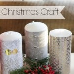 5 Minute Simple Christmas Craft - Marty's Musings
