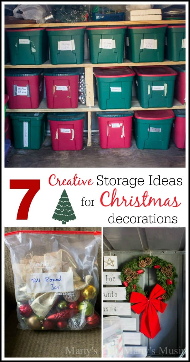It isn't nearly as much fun putting it away as it is getting it out, is it? Home organizing ideas, holiday organization, holiday storage ideas, Christmas decoration storage ideas. Find this Pin and more on OGT Blogger Friends by A Cultivated Nest | Saving Money| Organization| Homemaking Tips.