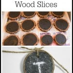 Chalkboard Banner with Wood Slices - Marty's Musings