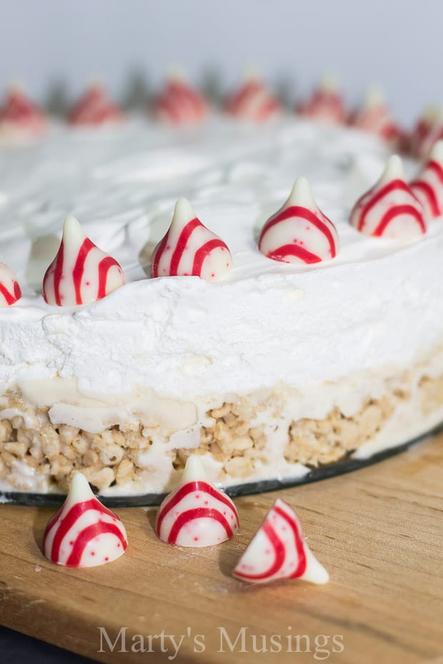 Easy Ice Cream Cake with Rice Krispies - Marty's Musings