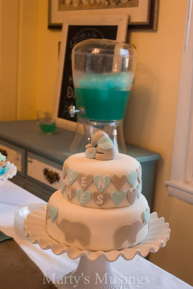 Blue Frozen Punch for Any Party - Marty's Musings
