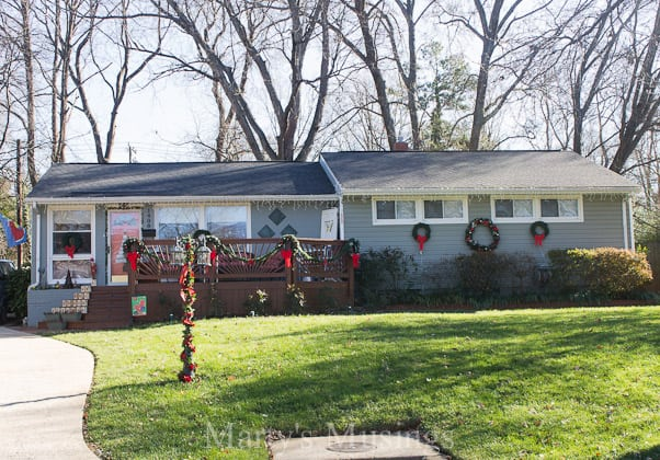 Decorating A Ranch House For Christmas House Decor