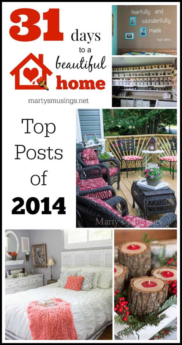 Top Blog Posts of 2014 - Marty's Musings
