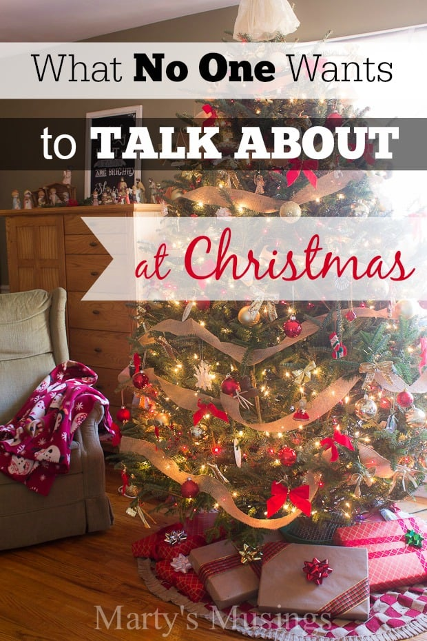 Ever noticed that NO ONE wants to talk about losing a loved one at Christmas? This poignant essay breaks the barrier on the grieving process and offers hope!