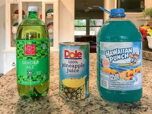 Easy Blue Frozen Punch Only Three Ingredients