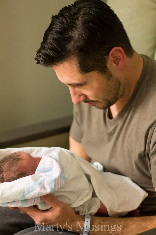 Advice for New Dads: Cliff Notes Version! from Marty's Musings