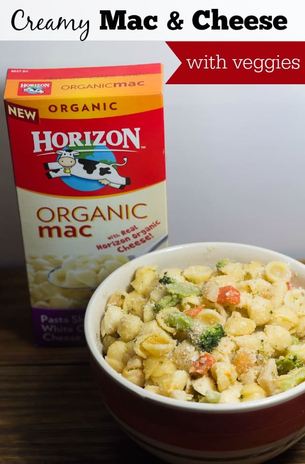 Creamy Mac and Cheese with Veggies - Marty's Musings