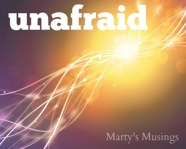 Unafraid - Word for 2015 from Marty's Musings