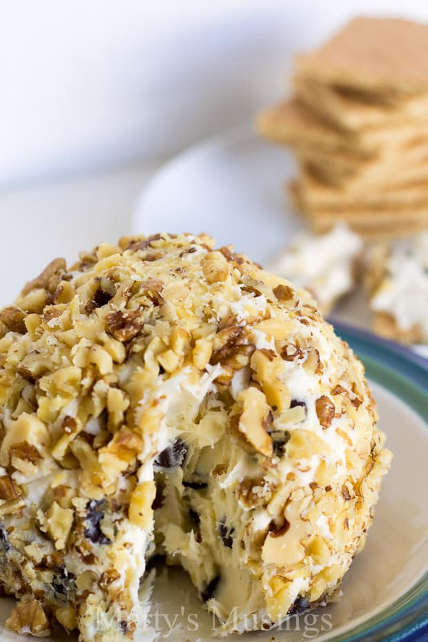 With just a few common ingredients, this deliciously sweet Chocolate Chip Cheeseball is an easy yet impressive dessert to share with friends and family.