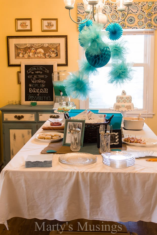 Elephant themed baby shower for Baby shower food decoration ideas