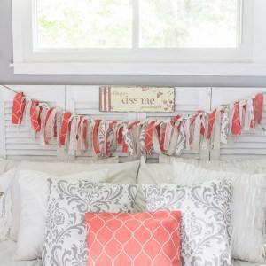 This simple tutorial from Marty's Musings will teach you how to use scrap fabric and clothing to make a DIY fabric rag banner that will brighten up any room, decor or party.