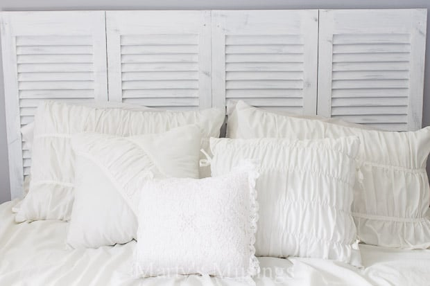 How To Make A Diy Headboard From A Closet Door