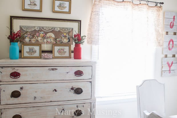 This Shabby Chic Dresser From Martys Musings Began As A Curbside Cast Off Before It Was