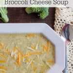 Regardless of the weather, this slow cooker Broccoli Cheese Soup from Marty's Musings is perfect for a busy day. With only 6 ingredients it's also budget friendly and delicious!