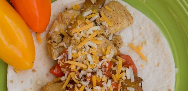 This delicious Chicken Fajita recipe made with both fresh ingredients and canned fruit is both tasty and economical and will soon become a family favorite!